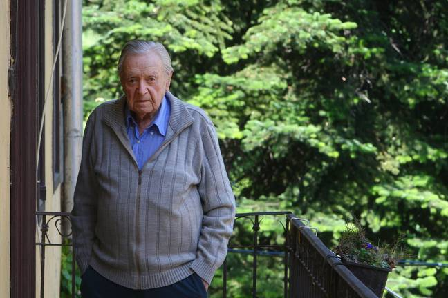Dr Zuroff says he didn't see jail but 'ruined the life' of former Nazi guard Sándor Képíró. Credit: PA