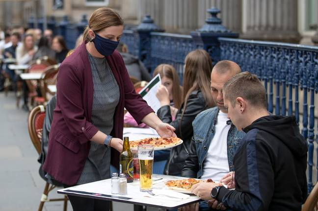 More than 32,000 restaurants have signed up to the 'Eat Out to Help Out' scheme. Credit: PA