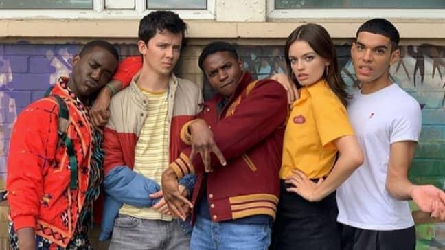 Sex Education cast (Credit: Instagram/sexeducation)