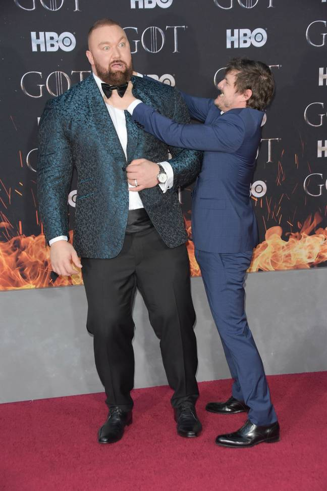 He's probably better known for his portrayal of 'The Mountain' in Game of Thrones. Credit: PA