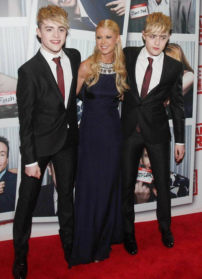 Tara Reid has revealed she in lockdown with Jedward. Credit: PA