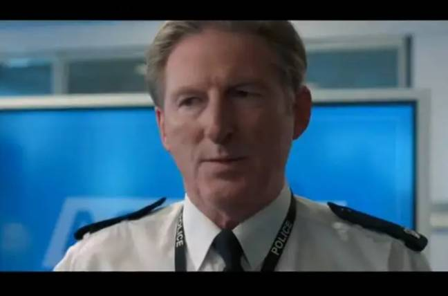 Adrian Dunbar as Ted Hastings. Credit: BBC One