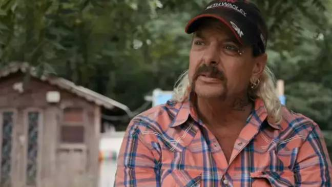 Joe Exotic is serving a 22-year prison sentence. Credit: Netflix
