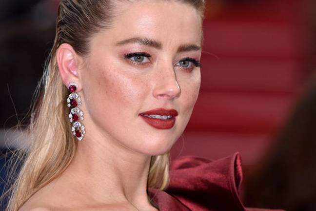 Amber Heard was also high on the list. Credit: PA
