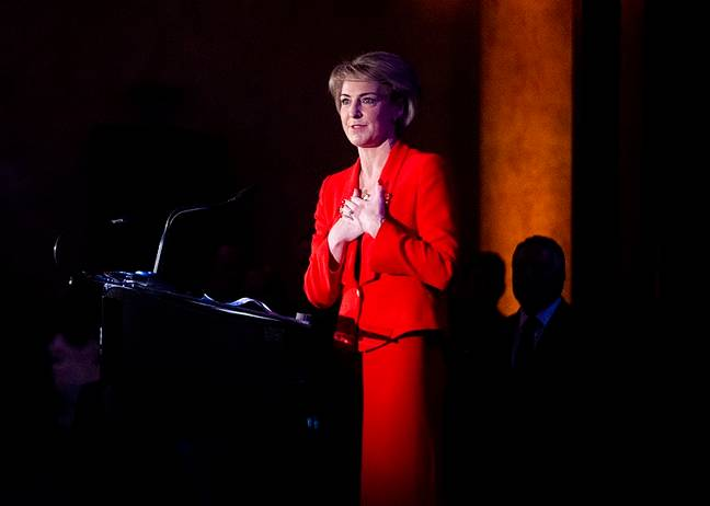 Employment Minister Michaelia Cash. Credit: Chairman of the Joint Chiefs of Staff (Creative Commons)