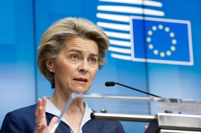 EC President Ursula von der Leyen. Credit: PA