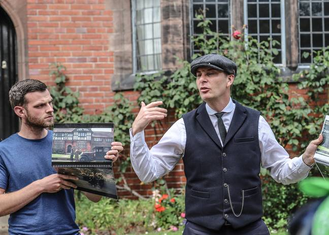 Why not go on the Official Peaky Blinders Tour? Credit: BritMovieTours