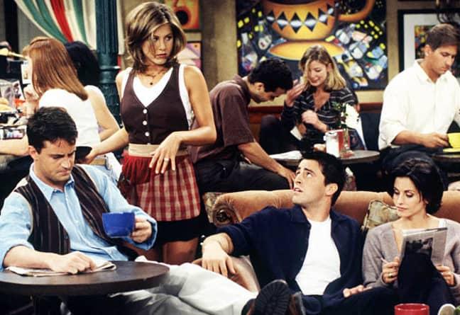 Jennifer Aniston as Rachel in Friends. Credit: Warner Bros