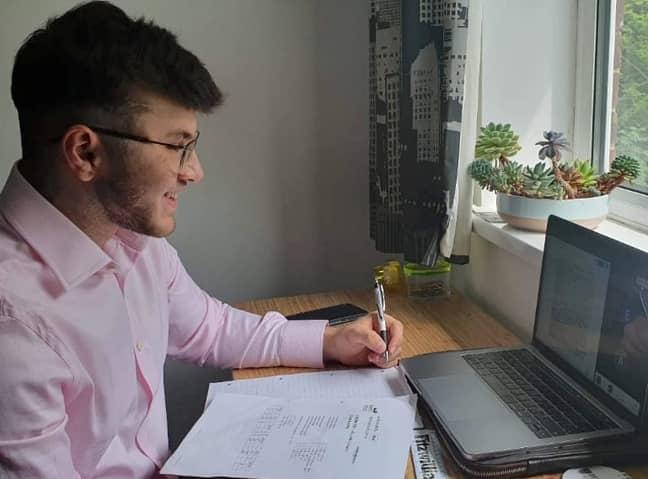 Buraq will study medicine at Cambridge. Credit: SWNS