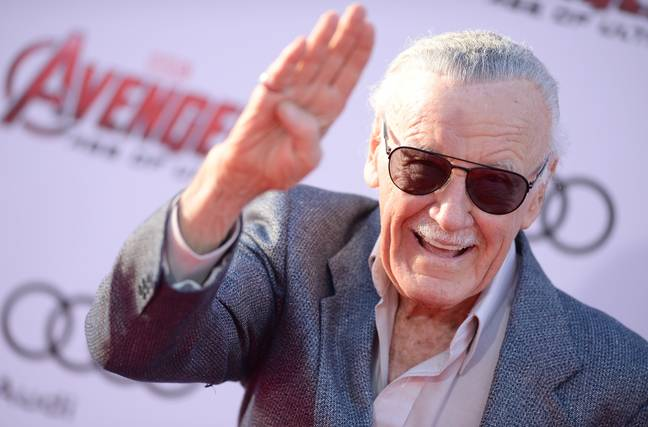 Stan Lee in 2015. Credit: PA