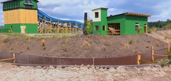 Jurassic Lost World. Credit: Gulliver's Valley Resort