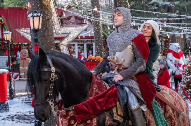 The Knight Before Christmas will land on Netflix. Credit: Netflix