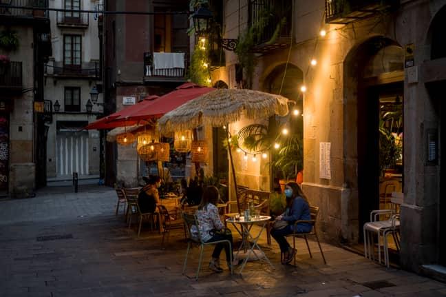 Barcelona, Spain. Credit: PA