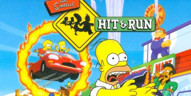 The Simpsons: Hit & Run was a classic. Credit: Vivendi Games