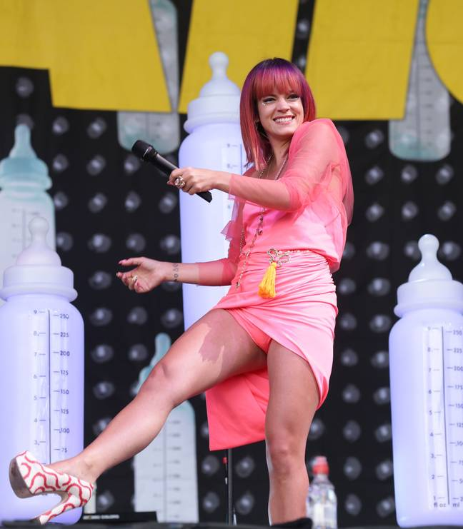 Lily Allen opened up about her struggles with addiction during her 2014 tour with Miley Cyrus. Credit: PA