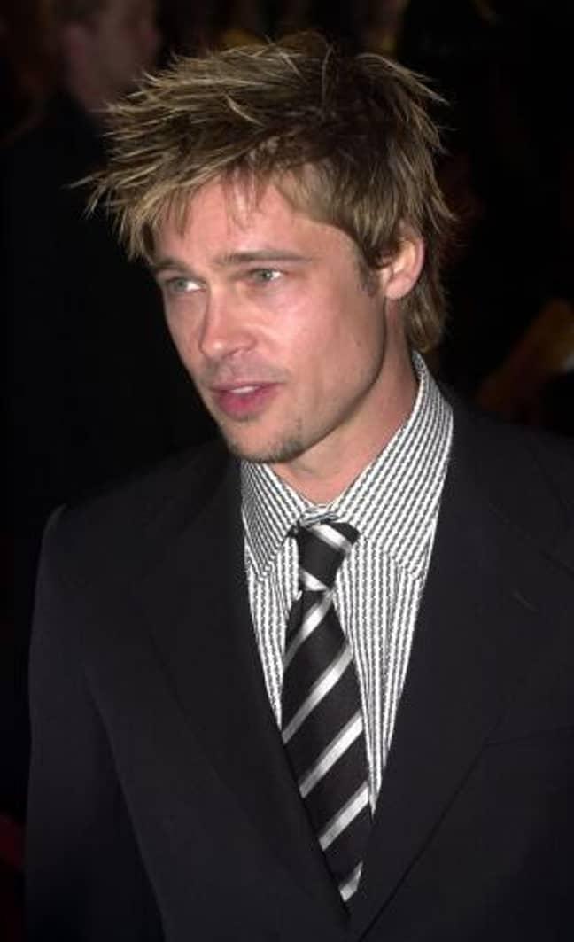 The real Brad Pitt. Credit: PA
