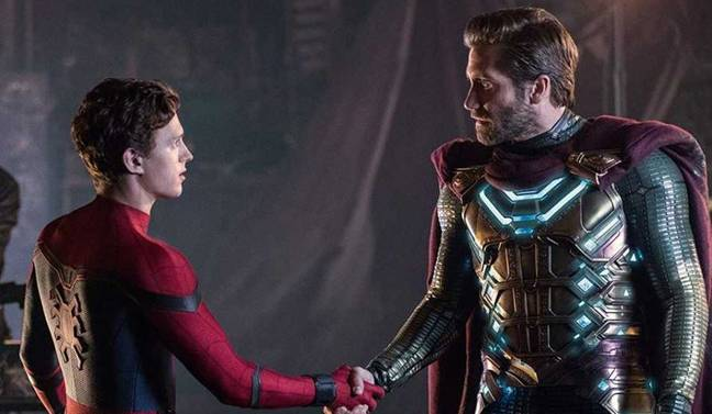 The previous film saw Spidey take on Mysterio. Credit: Sony