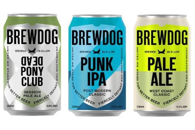 Brewdog Cans