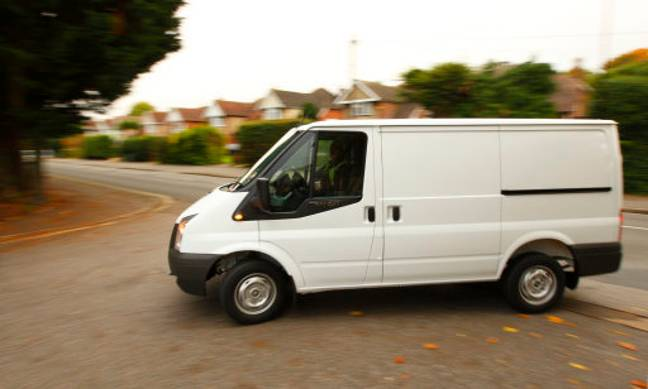 People who drive Ford Transit vans aren't so bad after all. Credit: PA