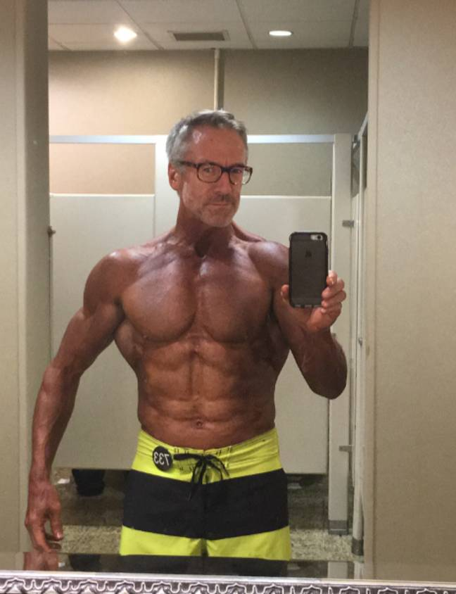 He now competes in national physique shows. Credit: Media Drum World