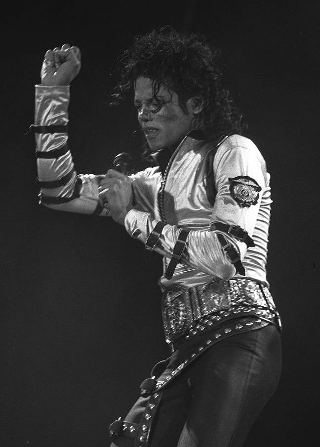 Michael Jackson was famous for his moonwalk. Credit: PA