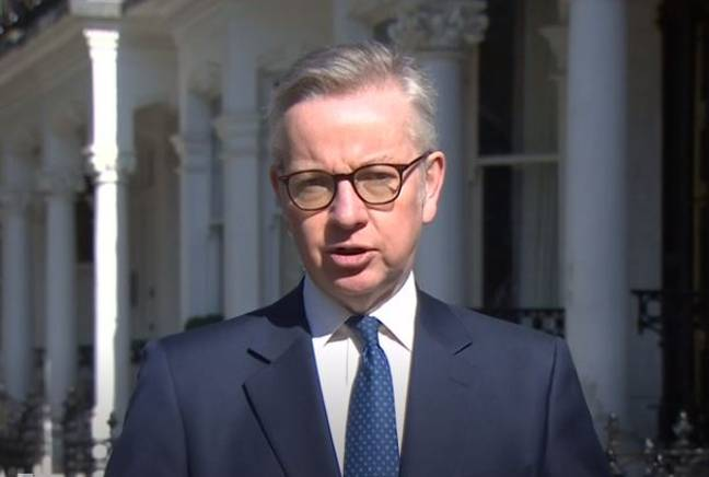 Michael Gove appeared on BBC's Andrew Marr Show. Credit: BBC