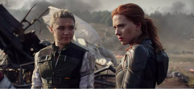 Black Widow is being released earlier in the UK than the US. Credit: Disney/Marvel