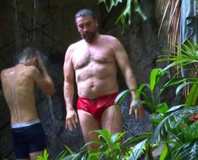You need a cold shower when you're as red hot as Nick Knowles. Credit: ITV
