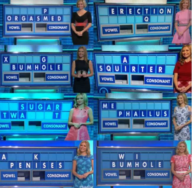 The maths whizz took over from 'Countdown' legend Carol Vorderman. Credit: Twitter/Channel 4