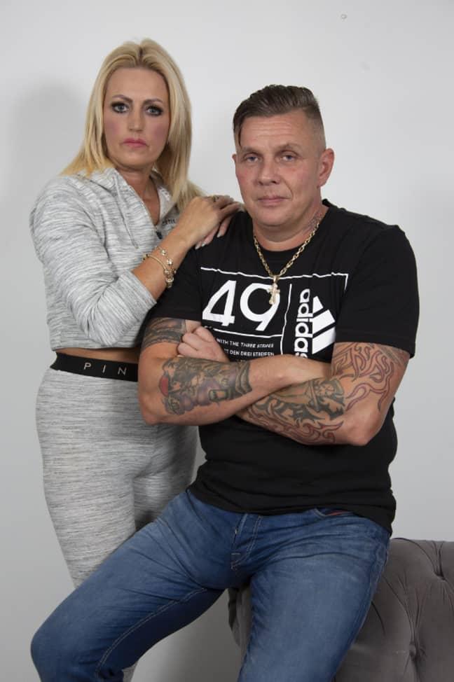 Steve Whitehurst with girlfriend Mandy Shenton. Credit: The Sun