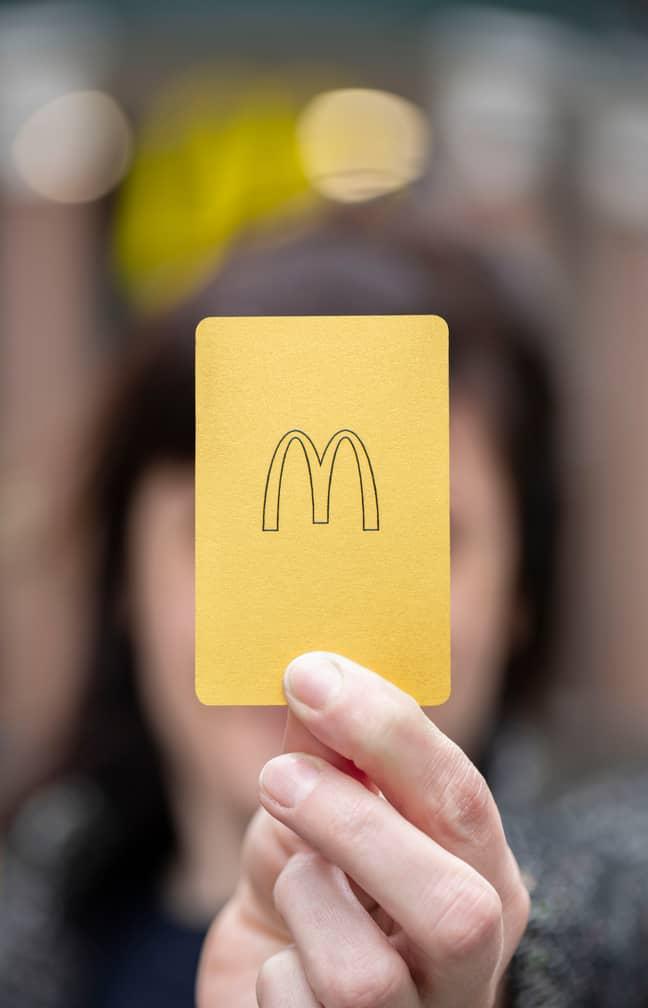 McDonald's Gold Card