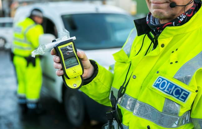 Stock image of a breathalyser. Credit: PA