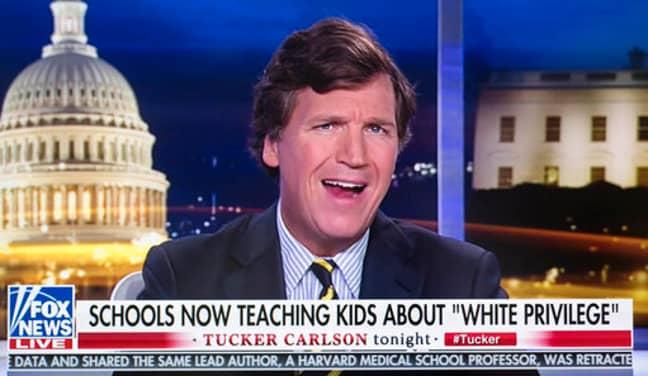 Tucker Carlson. Credit: PA