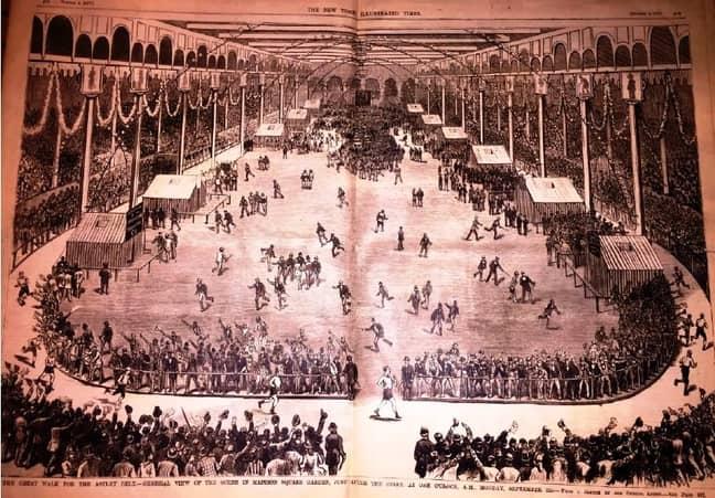 George Littlewood's Madison Square Garden Run