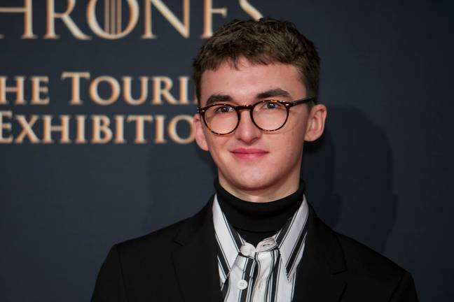 Isaac, with his usual glasses on. Credit: PA