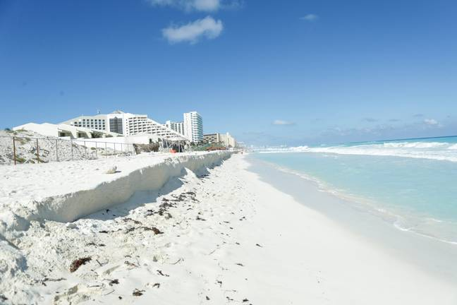 Holidaymakers returning from Mexico will have to isolate for 10 days in an approved hotel. Credit: PA