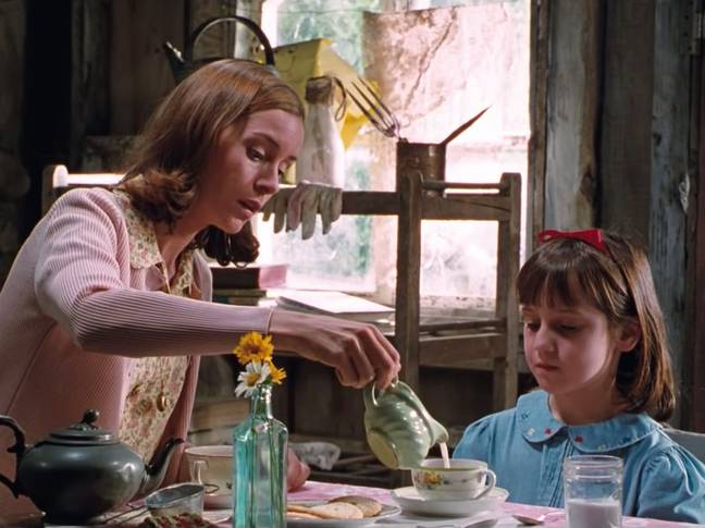 Embeth Davidtz as Miss Honey in the 1996 film adapation of Matilda. Credit: TriStar Pictures