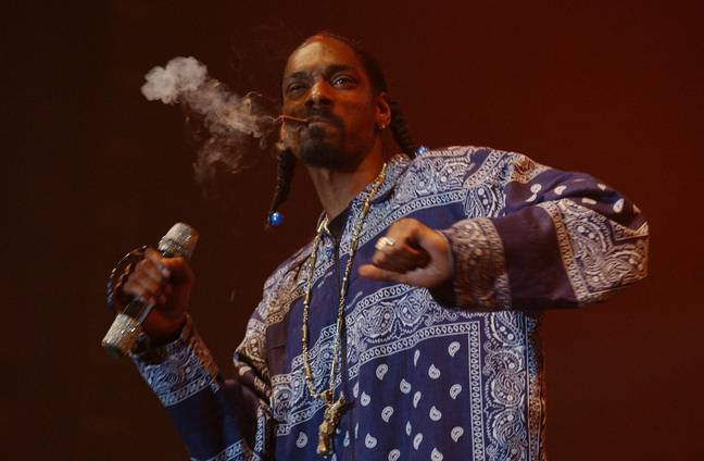 Snoop Dogg pays a handsome salary to have his blunts on demand. Credit: PA