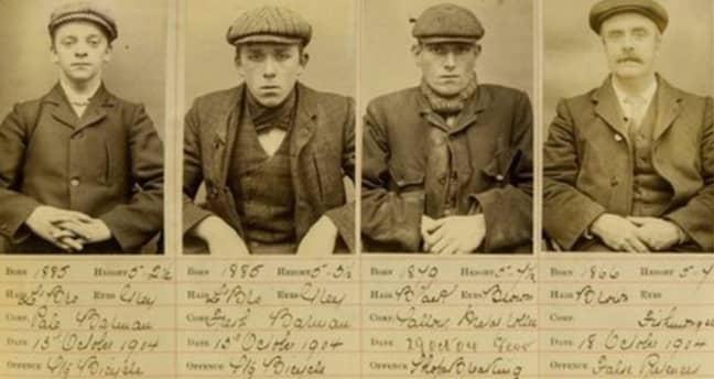 The Peaky Blinders were a fierce criminal gang. Credit: West Midlands Police Museum