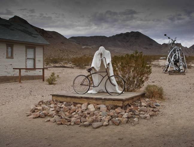 Albert Szukalski's Ghost Rider. Credit: Goldwell Open Air Museum