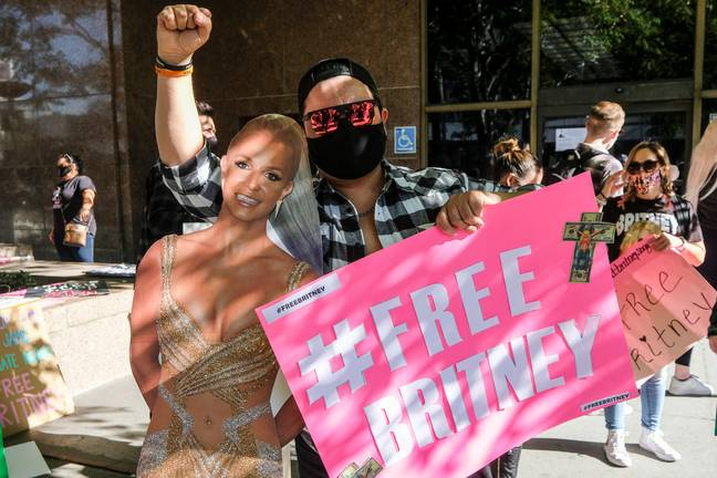 Fans have been campaigning for the singer under the #FreeBritney movement. Credit: PA