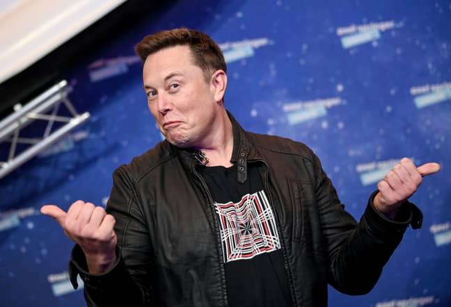 Go on, Elon. Credit: PA