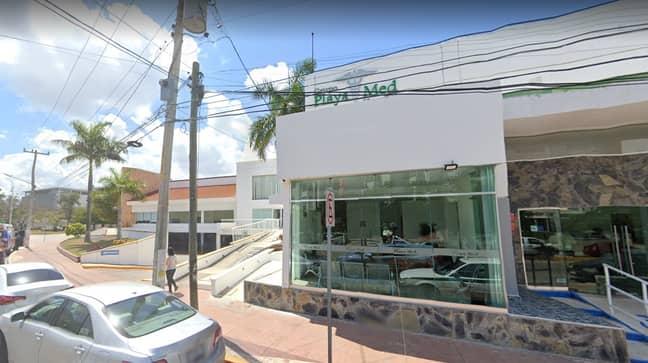 Playa Med Hospital in Cancun. Credit: Google Maps