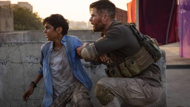 Rake manages to get Ovi to safety. Credit: Netflix