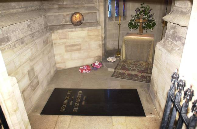 Prince Philip's remains will be moved to the George VI Memorial Chapel when the Queen dies. Credit: PA