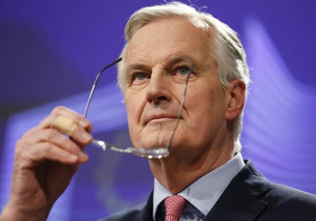 Michel Barnier. Credit: PA