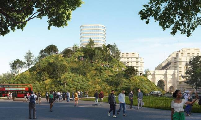 How it was supposed to look. Credit: MVRDV