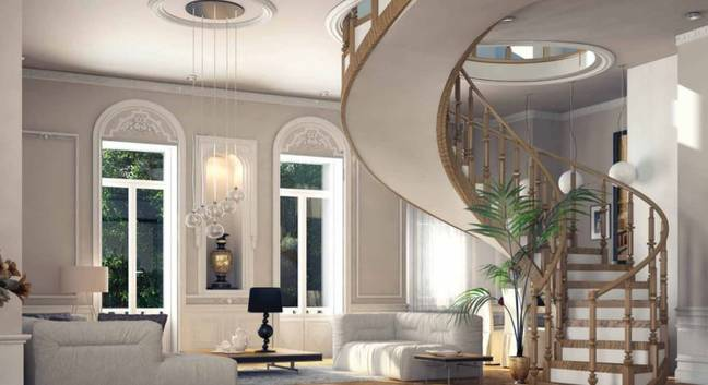 How developers wanted the inside of the homes to look. Credit: Sarot Group