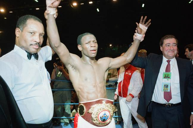 Eubank reckons they wouldn't have nicked it if they knew who he was. Credit: Alamy