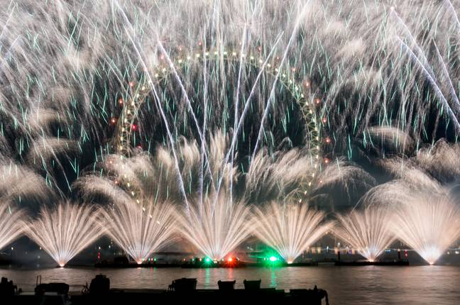 Firework displays in the UK were cancelled this year. Credit: PA